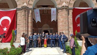8 yıldır kapalı olan İznik Müzesi Bakan Ersoy'un katıldığı törenle açıldı