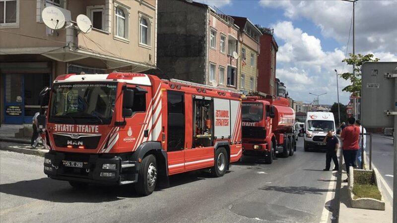 İstanbul'da işyerinde patlama: 3 yaralı