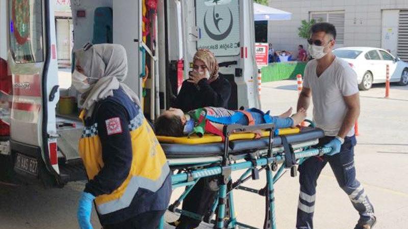Bursa'da 7 yaşındaki Ayşenaz ölümden döndü