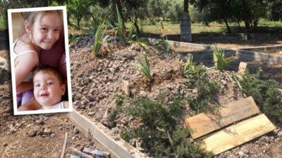 Bursa'da evlerinde ölü bulunmuşlardı… Anne ve 2 çocuğu toprağa verildi