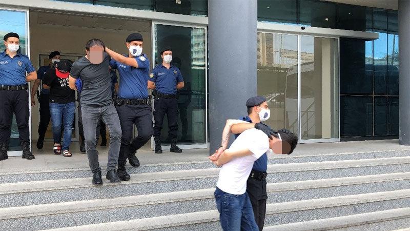 Bursa'daki uyuşturucu operasyonunda 8 tutuklama