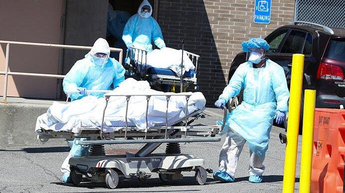 ABD'de koronavirüs bilançosu artıyor!