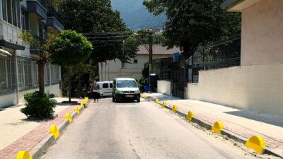 Osmangazi'de kaldırımlar daha güvenli