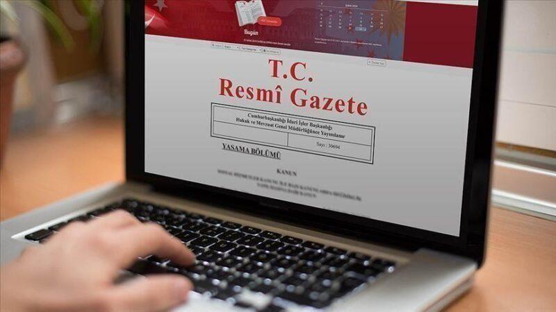 4 Bakanlık için atama kararları Resmi Gazete'de