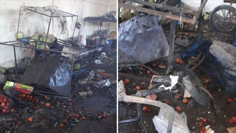 Rasulayn'da pazaryerine bombalı terör saldırısı: 5 ölü