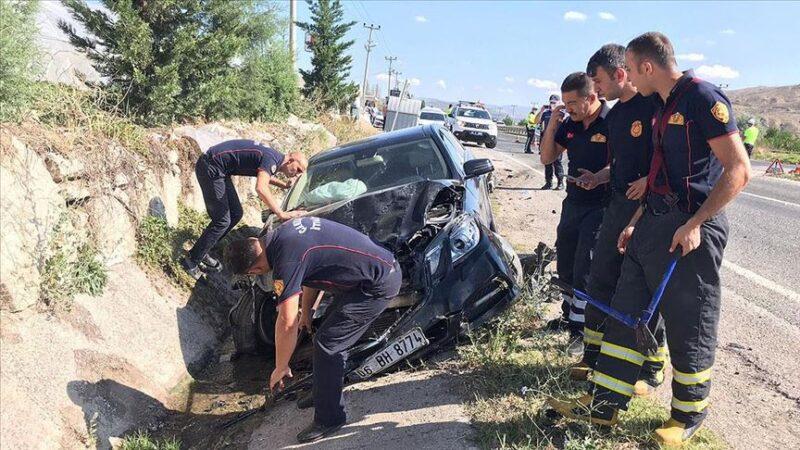 Sinop Valisi trafik kazası geçirdi: 1 ölü, 5 yaralı