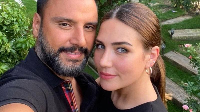 Alişan ile eşi Buse Varol'dan aşk pozu