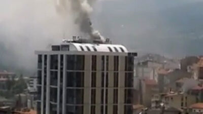 Bilecik'te AVM'de yangın paniği
