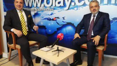 AK Parti İl Başkanı Ayhan Salman, OLAY'ın konuğu oldu…