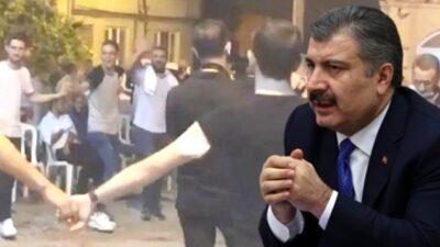Bakan Koca Bursa'daki düğünü örnek verip uyardı