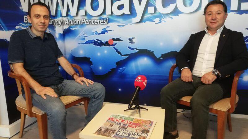 Bursaspor son düzlükte… Başkan Mestan, şampiyonluk yarışını OLAY'a anlattı…