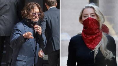 Ünlü çiftin davasında skandal kare: Johnny Depp'i gizlice çekmiş