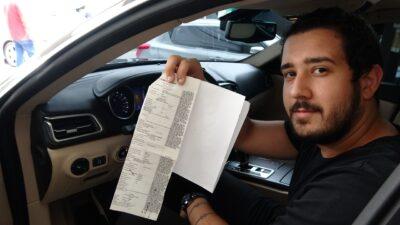 Bursa'da ilginç ceza! 270 kadranlı araca 427 km'lık hız cezası…