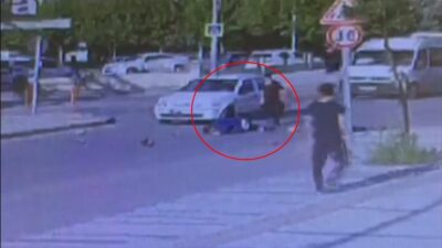 Bursa'da dehşet veren kaza kameraya böyle yansıdı
