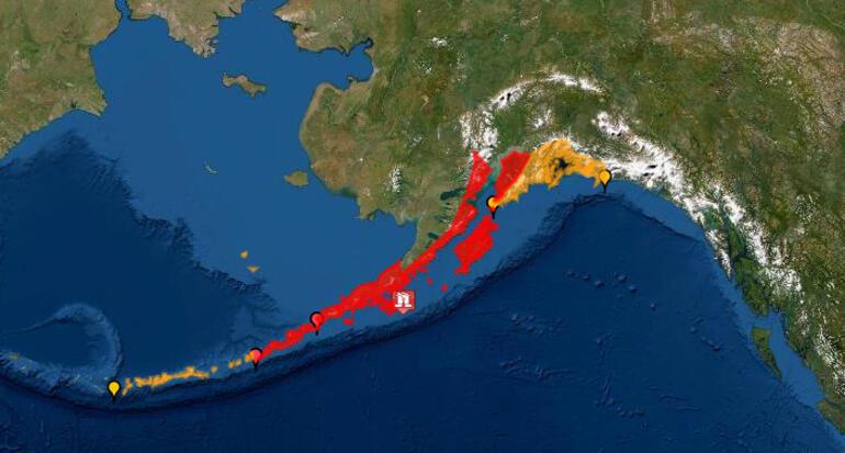 ABD'de deprem! Tsunami uyarısı…