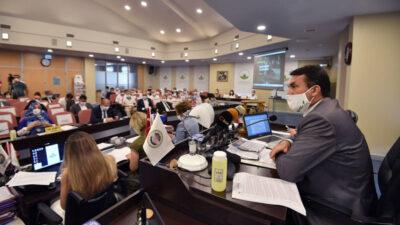 Belediye meclisi pandemi sonrası ilk kez toplandı