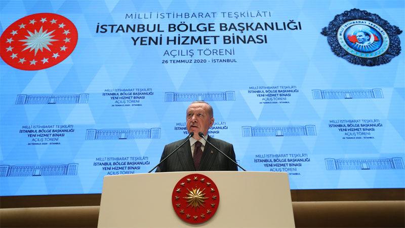 MİT'in İstanbul'daki kalesi açıldı! Cumhurbaşkanı Erdoğan'dan önemli mesajlar