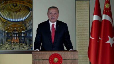 Cumhurbaşkanı Erdoğan açıkladı: Ayasofya 24 Temmuz'da ibadete açılıyor