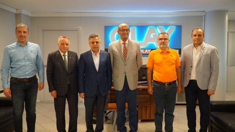 Şarlı ve Tak'tan OLAY'a ziyaret… Bursalı esnaf krediye sarıldı…