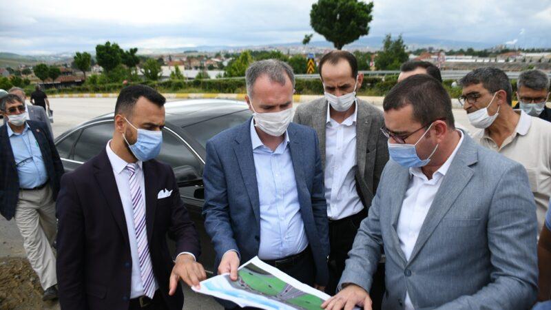 Yenice Köprülü Kavşağı Türkiye'de ilk olacak