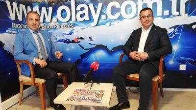 M.K.Paşa Belediye Başkanı Mehmet Kanar, www.olay.com.tr'nin canlı yayınına katıldı