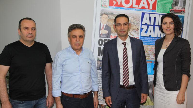 Limak Uludağ'dan OLAY Medya'ya ziyaret…