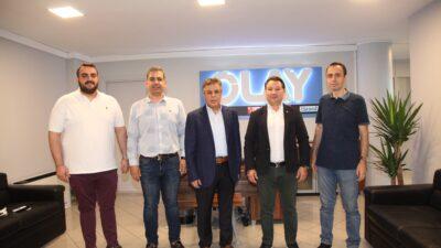 Bursaspor yönetiminden OLAY'a hayırlı olsun ziyareti…