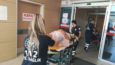 Bursa'da akıl almaz olay! Takma dişi boğazına kaçtı