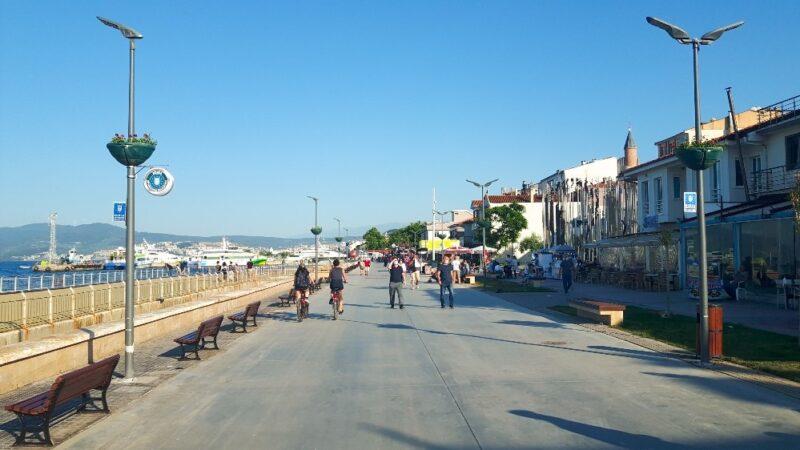 Mudanya'da sahillere estetik dokunuş