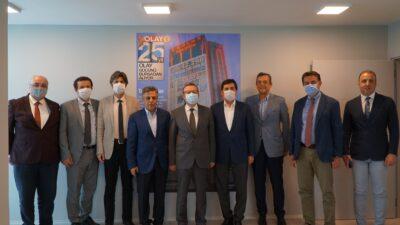 Uludağ Üniversitesi Rektörü Kılavuz'dan OLAY'a ziyaret…