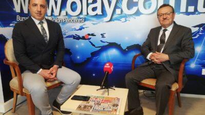 UÜ Rektörü Kılavuz'dan OLAY'a özel açıklamalar