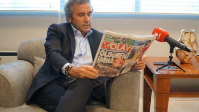 Yeşim Tekstil CEO'su Şankaya'dan OLAY'a ziyaret… TÜRKİYE ÇOK ŞANSLI…