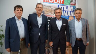 Yeşim Tekstil CEO'su Şenol Şankaya'dan OLAY'a ziyaret…