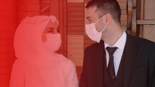 Koronavirüs vakaları arttı, nikah işlemleri durduruldu
