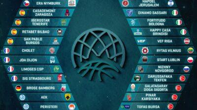 1 Milyon Euro ödüllü ligdeki takımlar belli oldu… Tofaş doğrudan gruplarda…