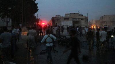 Tel Abyad'da bombalı terör saldırısı: 6 ölü