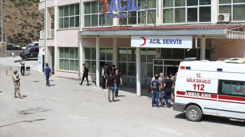 Şemdinli'de hain tuzak: 2 asker ve 1 güvenlik korucusu yaralı