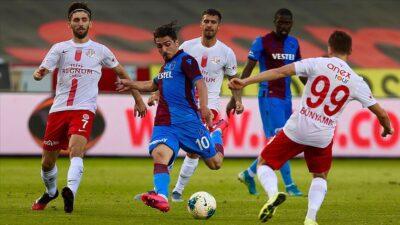 Trabzon yara aldı! İşte sonuçlar ve program…