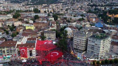 15 Temmuz etkinlikleri kapsamında Bursa'da bu yollar trafiğe kapalı olacak