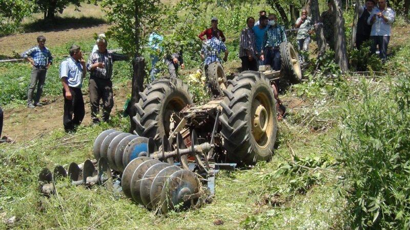Bursa'da feci kaza: Traktörün altında can verdi…