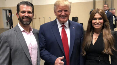 Trump'a şok! Oğlunun sevgilisi koronaya yakalandı…