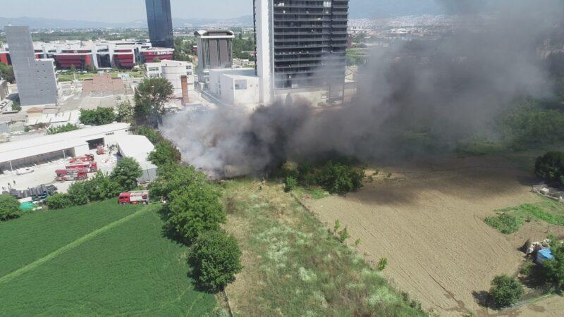 Bursa'daki yangınla ilgili Valilik'ten ilk açıklama!