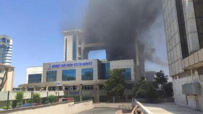 İstanbul'da korkutan yangın…