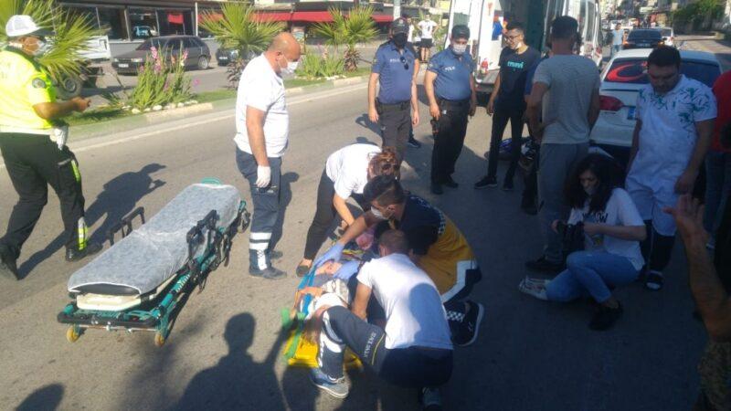 Bursa'da yaya geçidinde çarpıp kaçtı, kameralara yakalandı