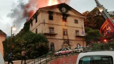 Yeni görüntüler…Bursa'nın tarihi mekanı böyle küle döndü