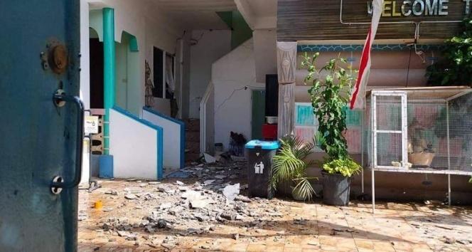Filipinler'de 6,6 büyüklüğündeki deprem