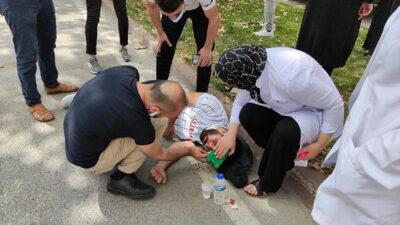 Bursa'da kaza: Film gibi izlediler