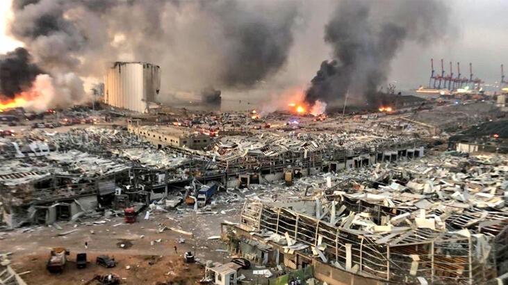 Beyrut'taki patlamaya ilişkin yeni gelişme!
