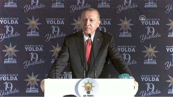 Cumhurbaşkanı Erdoğan tarih verdi ve uyardı: Gereken cevabı vermekten asla çekinmeyeceğiz