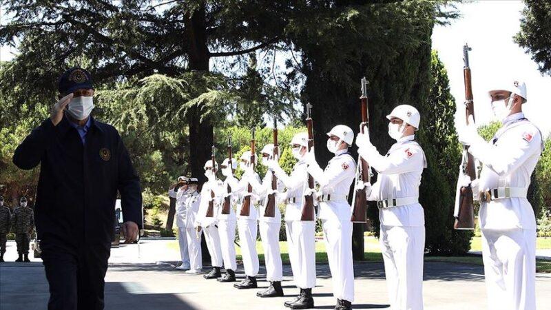 Akar ve TSK komuta kademesi Donanma Komutanlığı'nda